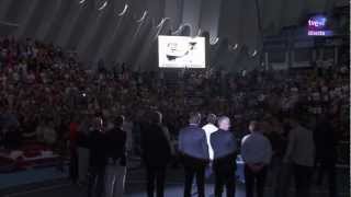 Nadal and Hewitt at Ferrero´s retirement ceremony Valencia Open 2012