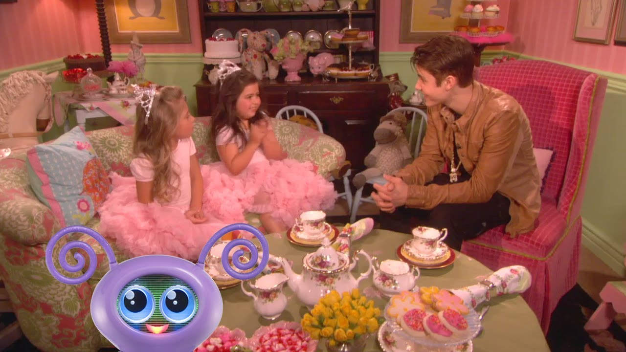 sophia grace amp rosie do tea with justin bieber youtube