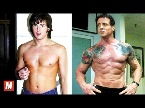 Sylvester Stallone | From 7 To 70 Years Old
