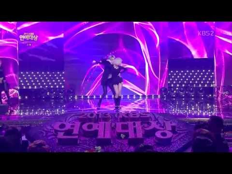 [HD中字] 131221 Trouble Maker in 2013 KBS演藝大賞 - 沒有明天