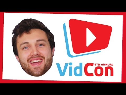 I'll be at VidCon 2018 - cameramanjohn made this video 🚫🦀
