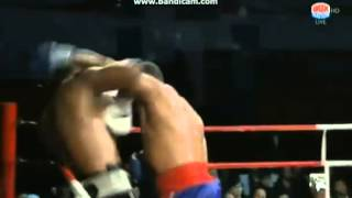Tony Thompson vs Odlanier Solis The Tiger Beat La Sombra