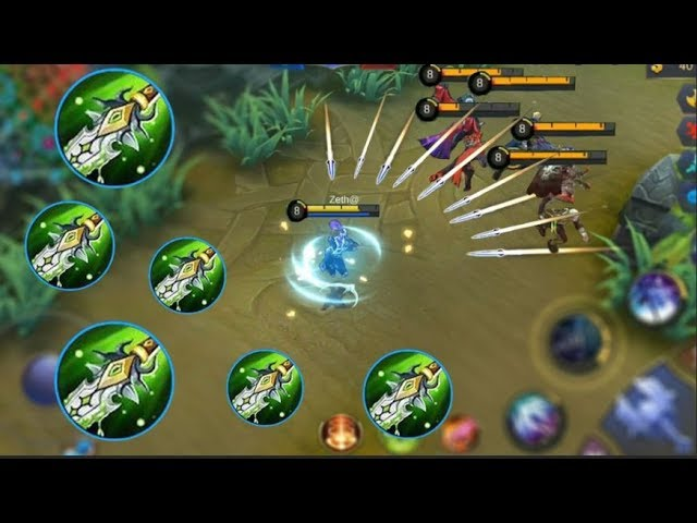 NEW ASSASSIN GOSSEN | FULL BLADE OF DESPAIR BUILD | INSANE DAMAGE | Mobile Legends