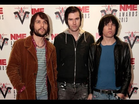 The Cribs On Winning Outstanding Contribution To Music - NME Awards 2013 Backstage