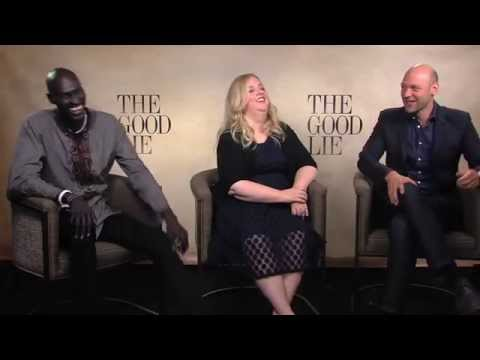 THE GOOD LIE Interviews with Ger Duany,Sarah Baker,Corey Stoll