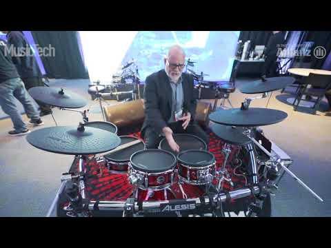 The Alesis Strike Pro Electric Drum Kit | NAMM 2018