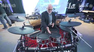 The Alesis Strike Pro Electric Drum Kit | NAMM 2018