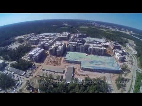 Exxon Mobile - New  Woodlands, TX Campus Aerials  May 15, 2014