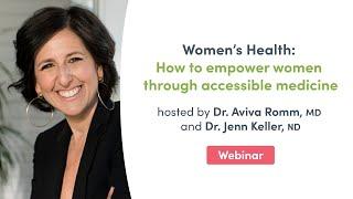 Women's Health: How to empower women through accessible medicine