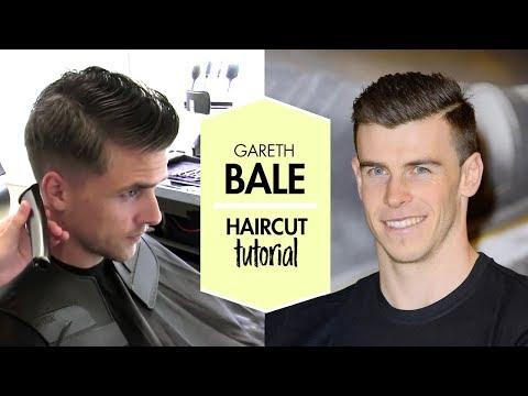 Gareth Bale men footballer haircut and hair styling tutorial | By Vilain