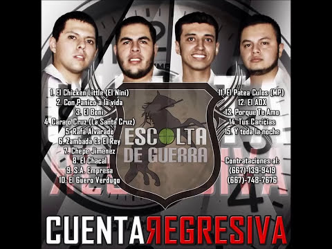 Escolta De Guerra - Cuenta Regresiva (Disco Completo / Full Album) [Estudio 2015]