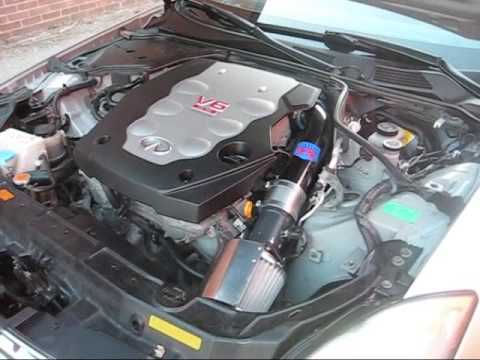 New Intake Install On My G35 Youtube