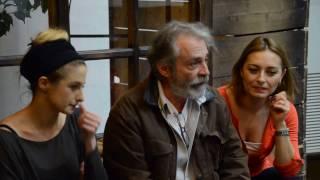 Haluk Bilginer Canan Ergüder Ayça Bingöl ile Nehir Oyunu Röportajı
