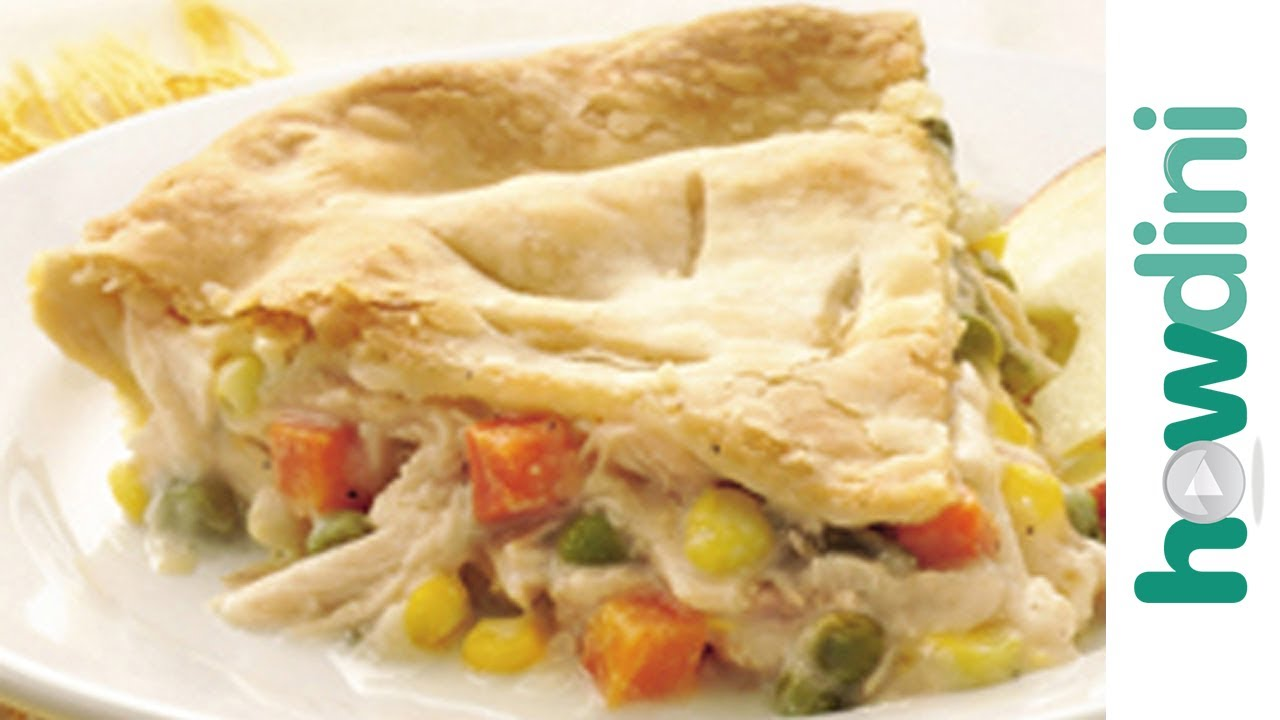 Chicken pot pie recipe - How to make chicken pot pie - YouTube