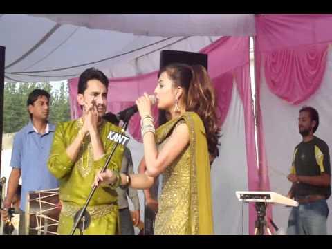 Deep Dhillon Jasmeen Jassi Live- Kant Sound.flv