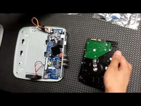 Dahua HCVR7104-S2 Unboxing and D installation