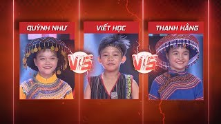 Hà Quỳnh Như vòng đối đầu giọng hát Việt nhí 2018