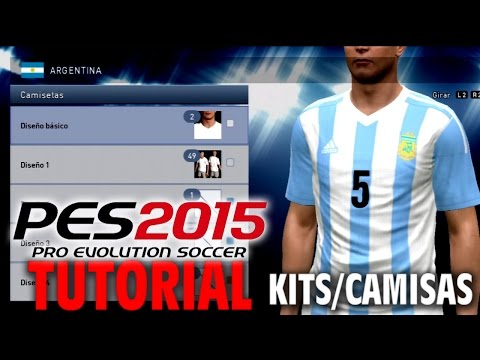 PES 2015 TUTORIAL Como Insertar Kits/Camisas para PS3 (Copa America 2015)