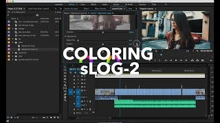 How I Color Grade a6300 sLOG-2 Footage