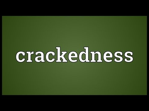 Header of crackedness
