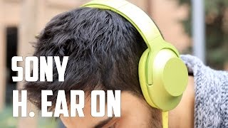 Sony h.ear on, review en español