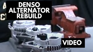 How to rebuild a denso alternator | denso rebuild kit