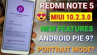 Redmi note 5 Miui 10.2.3.0 new update | new features | Miui 10.2.3.0 update Redmi note 5