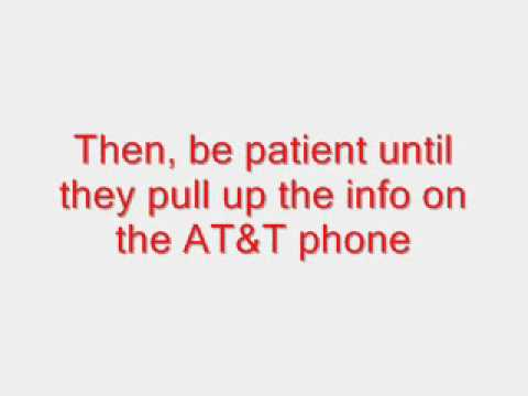 How to use a T-mobile SIM Card in an AT&T Phone (Unlock)