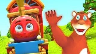 New Hindi Rhymes For Babies   Hindi Cartoon Videos   बालगीत For Children