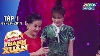 HTV MÃI MÃI THANH XUÂN| Ngô Kiến Huy ngồi ghế nóng cùng Quyền Linh, Ốc Thanh Vân | MMTX #1FULL