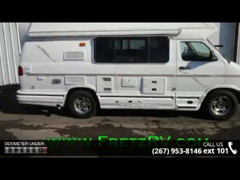 Used 2000 American Cruiser  van camper RE2000 for Sale Fretz RV Classified Ads Camper Trader