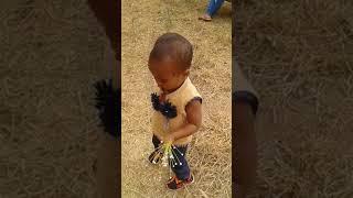 Funny baby creative walk