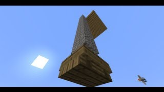 Self-Cleaning Tower -- Minecraft Invention