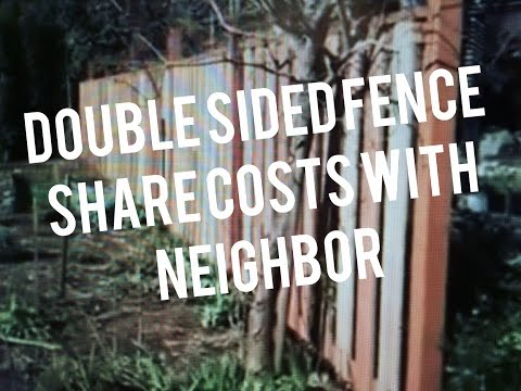 How to build Wood Fence, Easy Good Neighbor Design Instructions by Carpenter