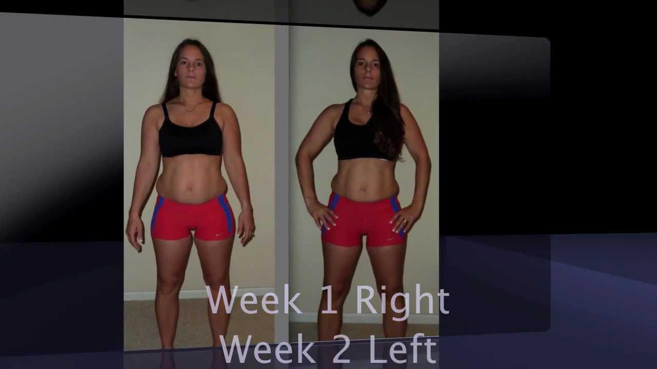 Week 2 INSANITY workout progress update - Connie Hernando