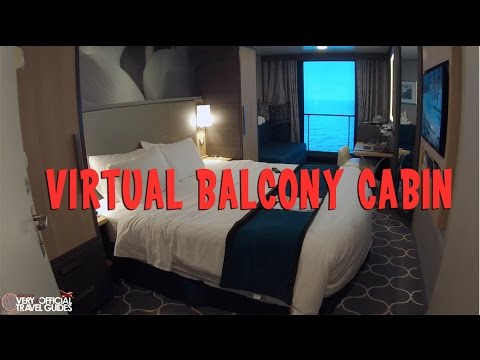 Harmony of the Seas Virtual Balcony Tour, Royal Caribbean's Largest Cruise Ship in the World
