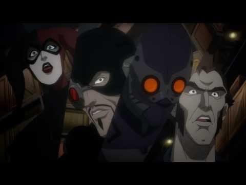Бэтмен против отряда Самоубийц