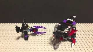 "LEGO Review ""LEGO CHIMA Razcal Glider 70000"" Stop Motion"