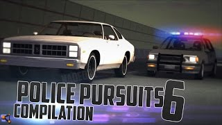 BeamNG.Drive Police Pursuits Compilation #6 [HighSpeed Crashes and Rollovers - HD]