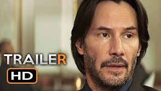 Siberia Official Trailer #1 (2018) Keanu Reeves Thriller Movie HD