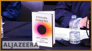 📕 Stephen Hawking's final book entreats readers: 'Shape the future'   Al Jazeera English