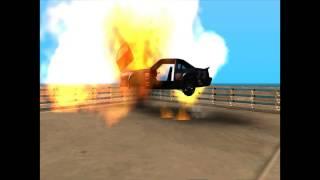 Gta Sandreas Araçların  Patlama Anları