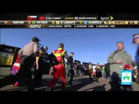 NASCAR Brawl with Gordon & Bowyer | LIVE 11-11-12