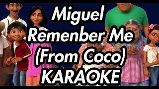 "download lagu Miguel - Remember Me Dúo From ""coco"" Ft. Natalia gratis"
