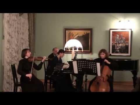 Глинка Михаил Иванович - Патетическое трио для фортепиано, скрипки и виолончели ре минор
