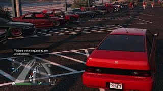 GTA 5 Online Car Meet And Cruise, Christmas Theme,