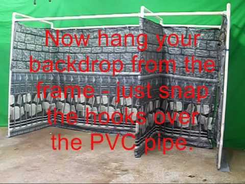 Make a haunted house using pvc pipe youtube for Build a haunted house
