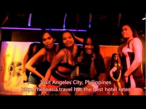 Sexy Girls Dancing Angeles City Philippines 2012 - Part 2 video