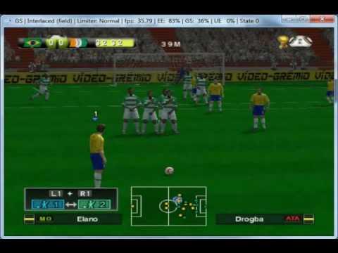 Rivals Mix 10 (PES2010) World Cup 2010 Africa / Brasileirão on PCSX2 0.9.7 - Playstation 2 Emulator