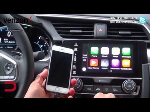 2016 Honda Civic Apple CarPlay Technology on Everyman Driver